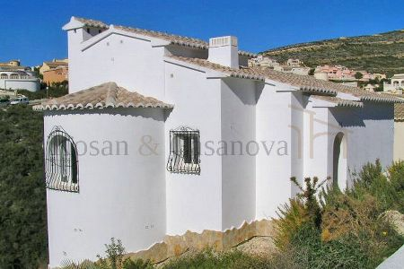 Benitachell- Ready-to-move new villa with sea views on the Costa Blanca pic 1