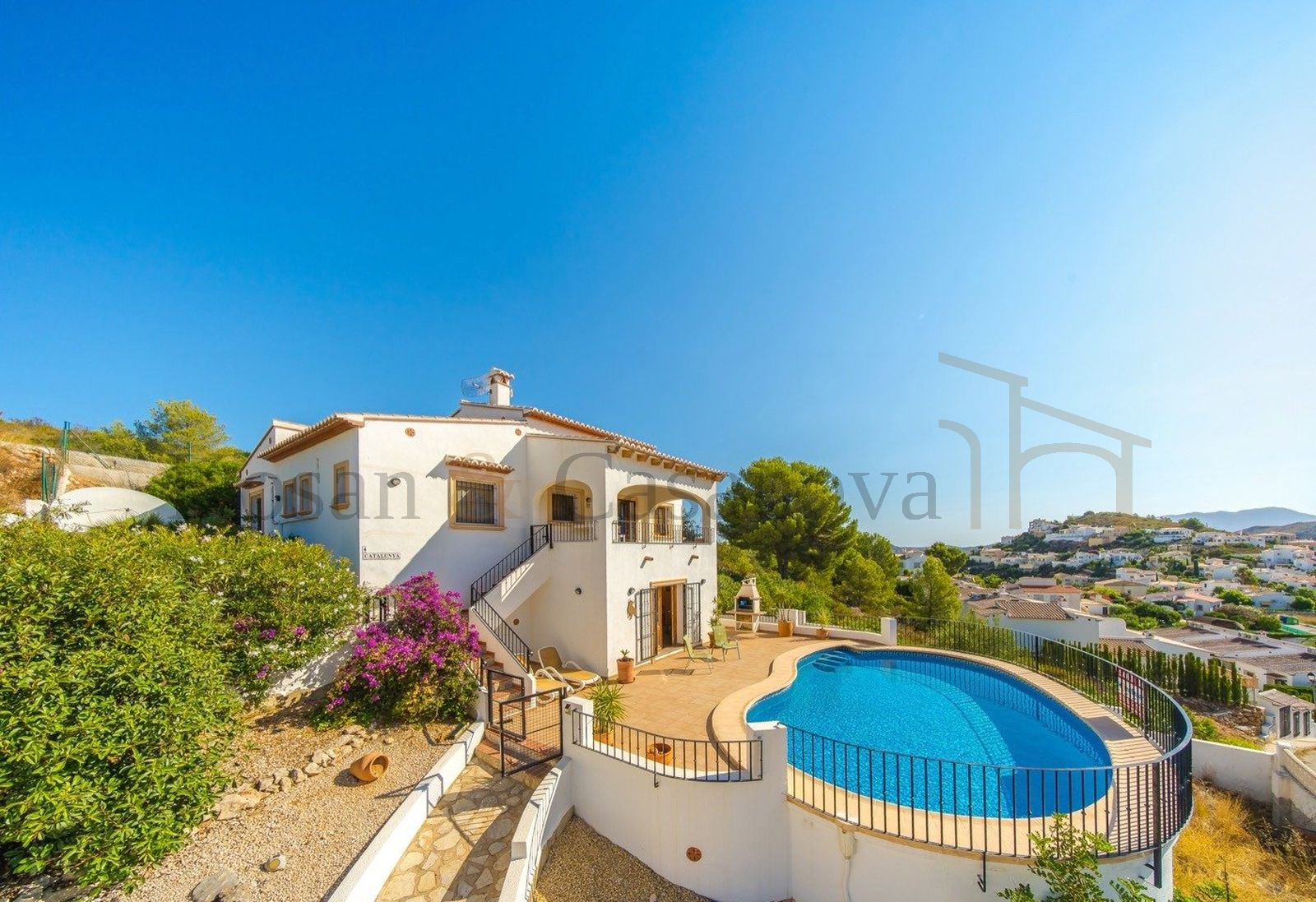 Pedreguer- Villa with fantastic panoramic views in Pedreguer pic 12
