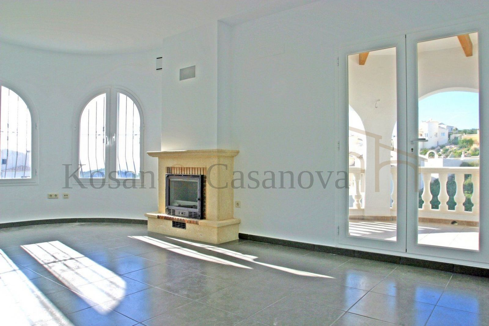 Benitachell- Ready-to-move new villa with sea views on the Costa Blanca pic 5