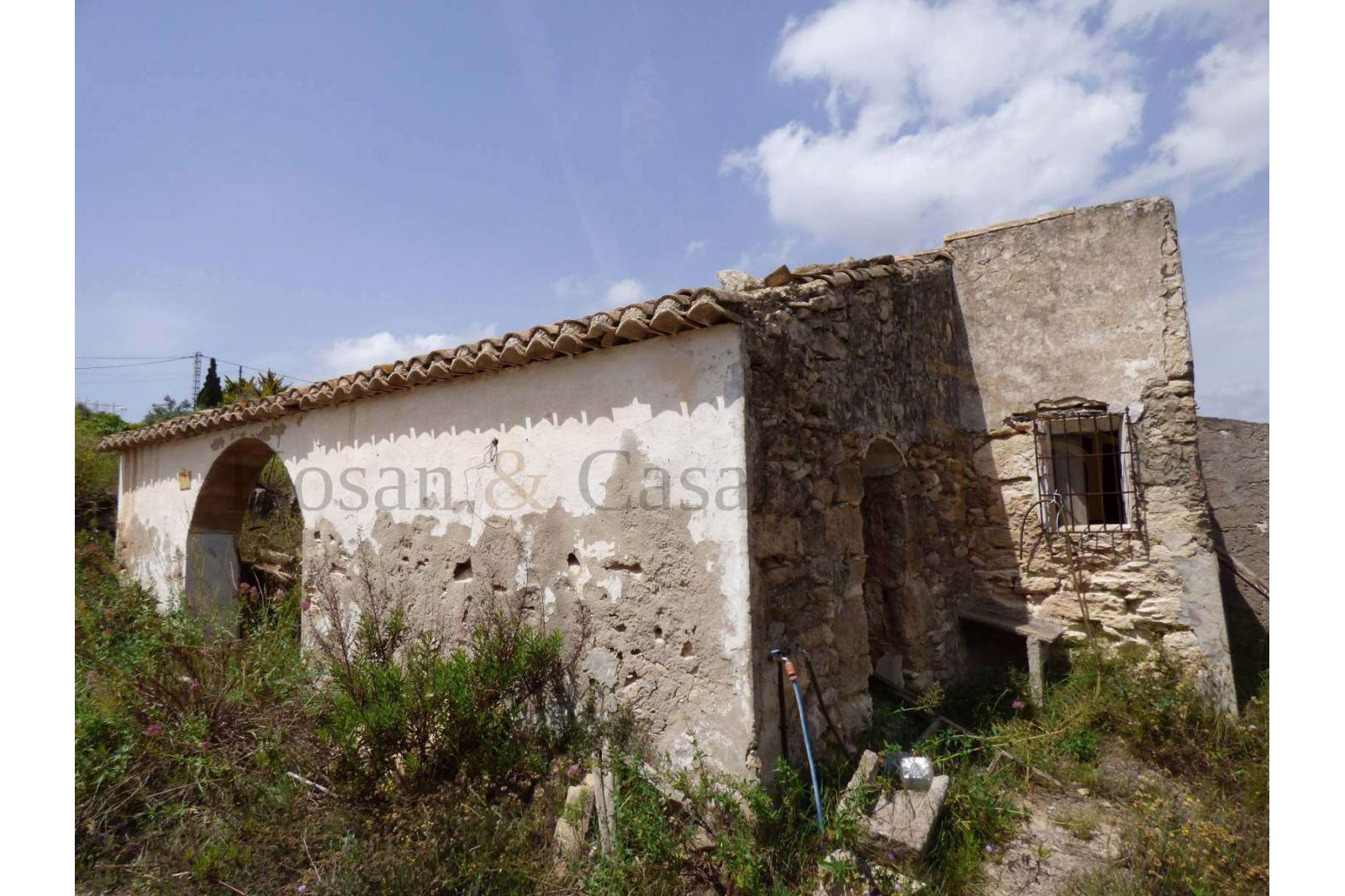 Benitachell- Traditional Finca Ruin to be rebuilt on the Costa Blanca pic 2