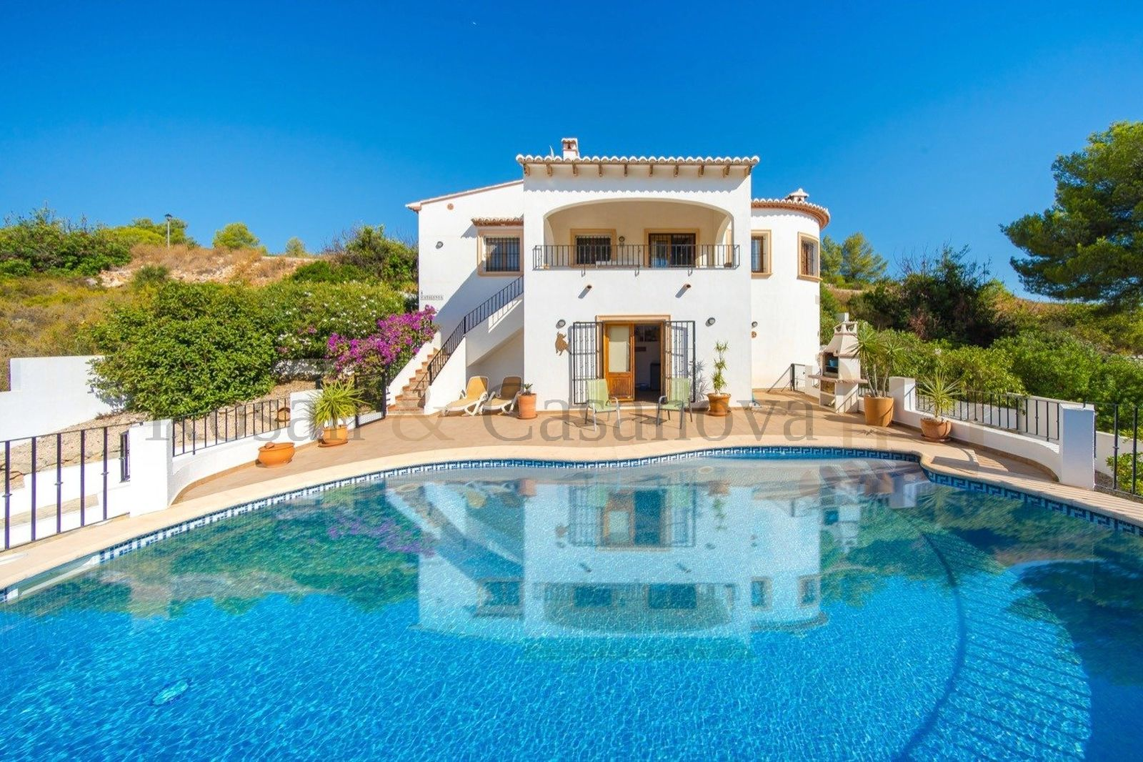 Pedreguer - Villa with fantastic panoramic views in Pedreguer