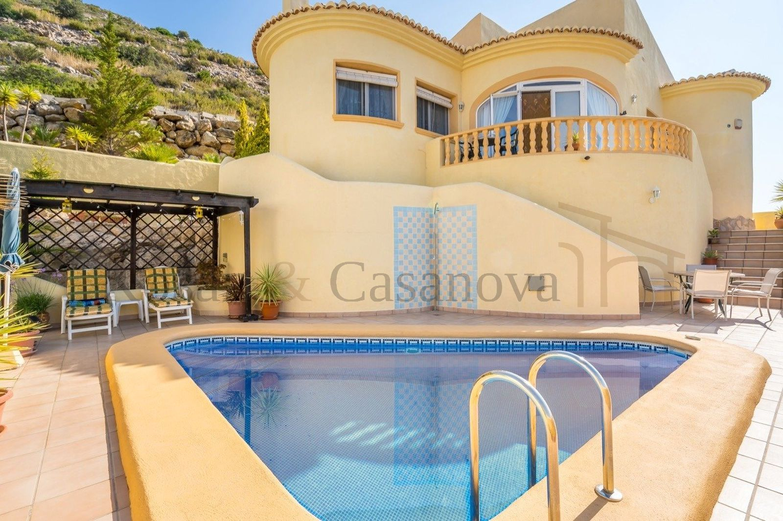 Other locations - Villa with great panoramic views Jalón