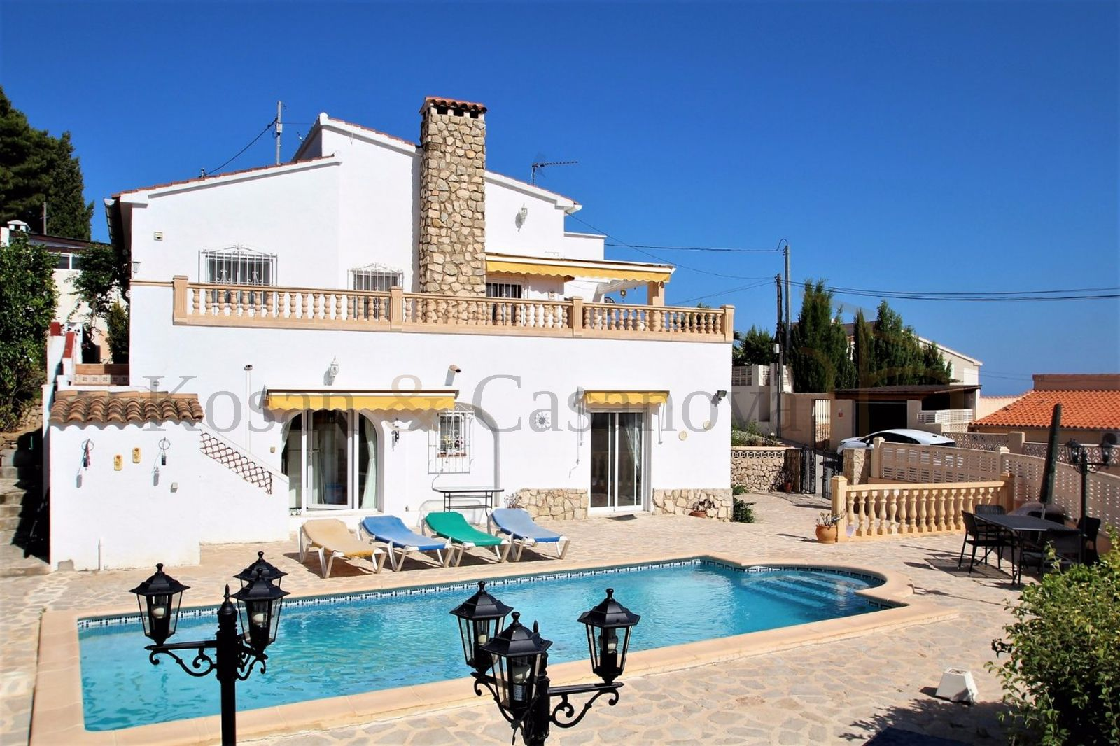Benissa- Villa near the beach in La Fustera, Benissa